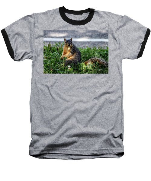 Baseball T-Shirt featuring the photograph Peanut by Joann Copeland-Paul