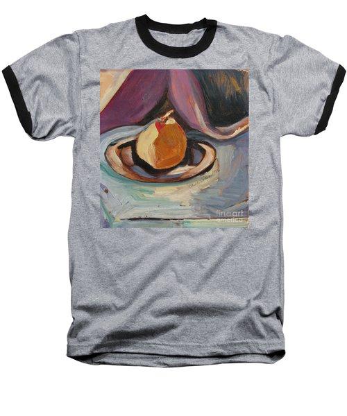 Pear Baseball T-Shirt by Daun Soden-Greene