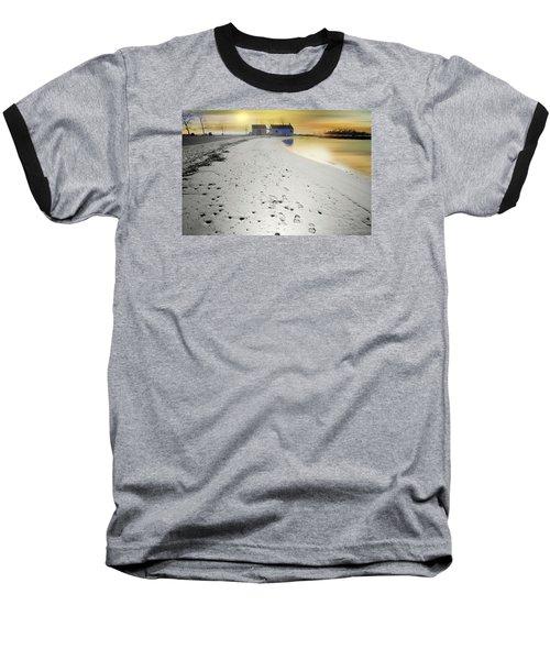 Pear Tree Footsteps Baseball T-Shirt