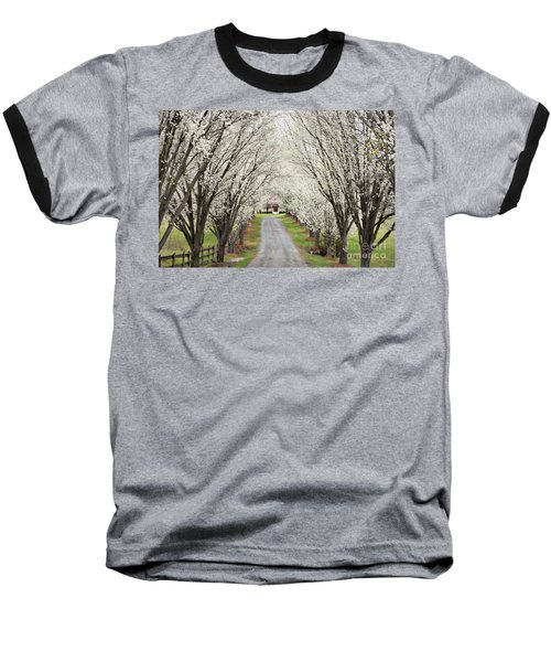 Baseball T-Shirt featuring the photograph Pear Tree Lane by Benanne Stiens