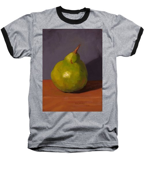 Pear With Gray Baseball T-Shirt
