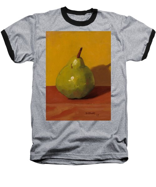 Pear With Yellow Baseball T-Shirt
