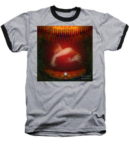 Pearl Of Love Baseball T-Shirt by Rosa Cobos