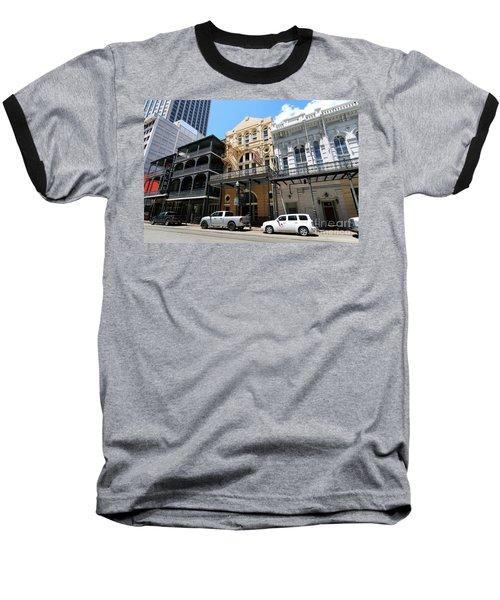 Pearl Oyster Bar Baseball T-Shirt