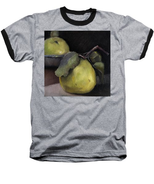 Pears Stilllife Painting Baseball T-Shirt by Michele Carter
