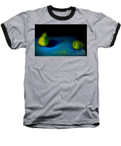 Pears Unpaired Baseball T-Shirt by Daun Soden-Greene