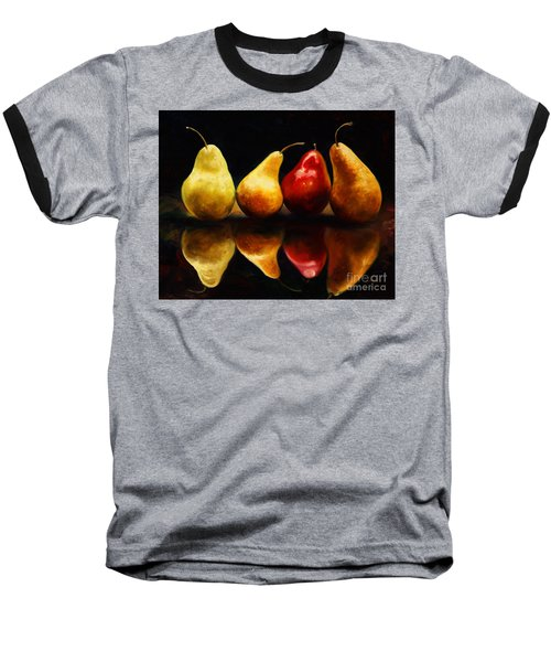 Pearsfect Baseball T-Shirt by Laurie Hein
