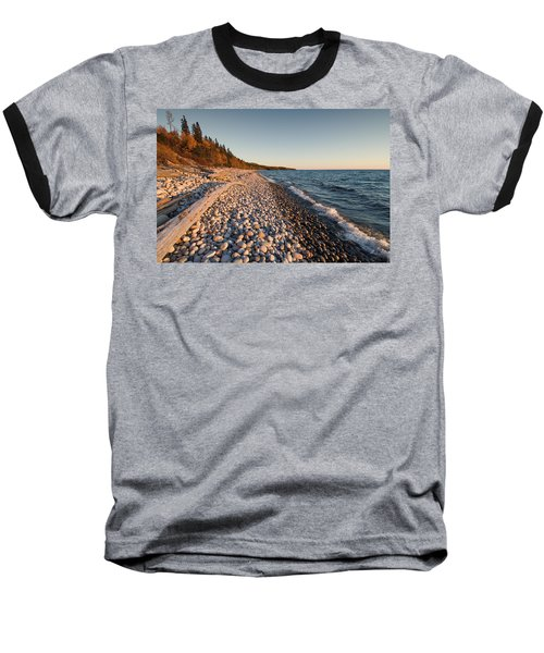 Pebble Beach Autumn    Baseball T-Shirt