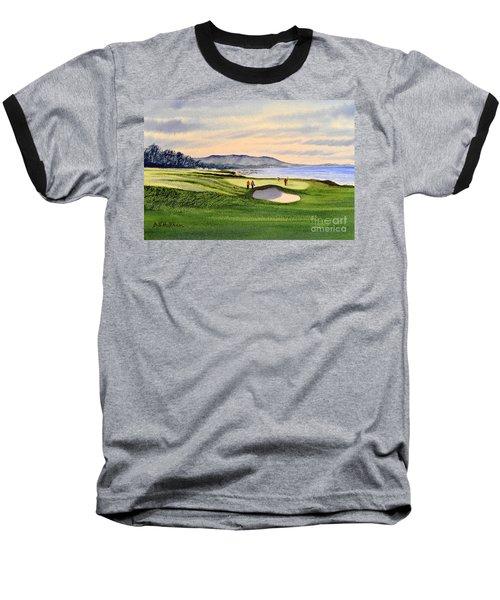 Pebble Beach Golf Course Baseball T-Shirt