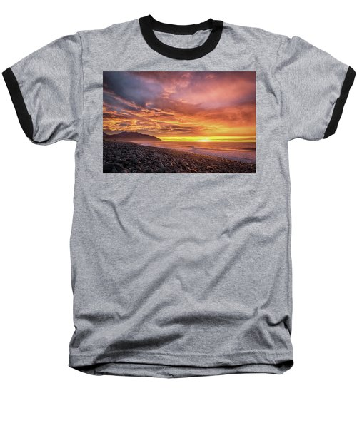Pebble Beach Sunrise Baseball T-Shirt