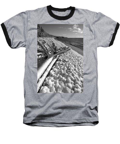 Pebble Beach Winter Baseball T-Shirt