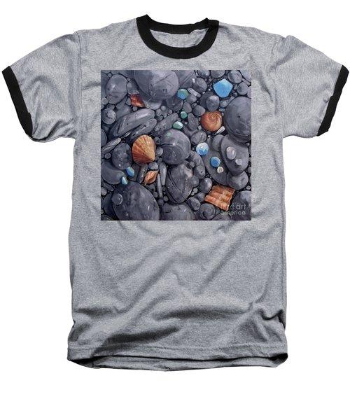 Pebble Soft Moments 1 Baseball T-Shirt