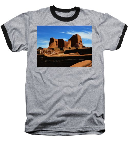 Baseball T-Shirt featuring the photograph Pecos New Mexico by Joseph Frank Baraba