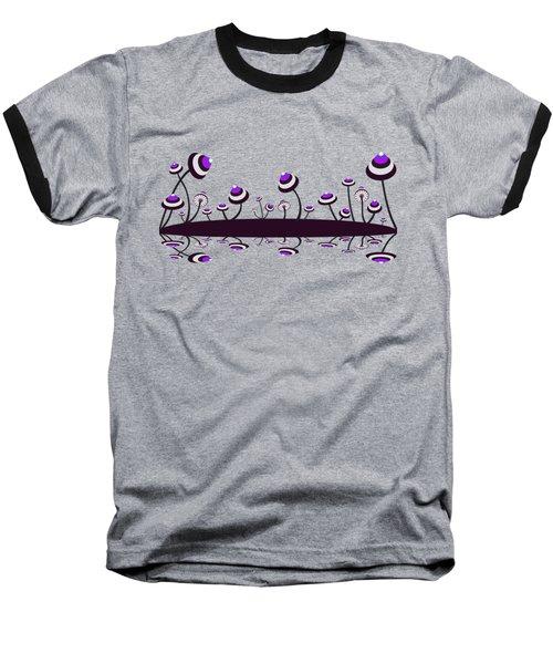 Peculiar Mushrooms Baseball T-Shirt