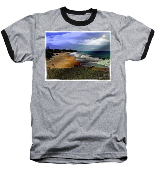 Pedasi Beach, In The Dry Arc Of Panama Baseball T-Shirt