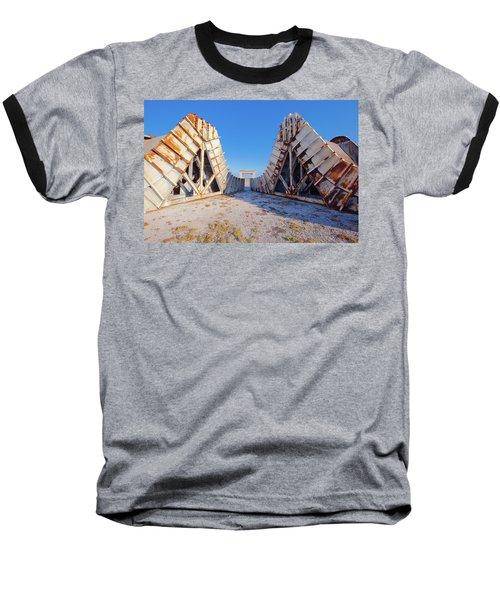 Pedestal Between The Deflectors Baseball T-Shirt