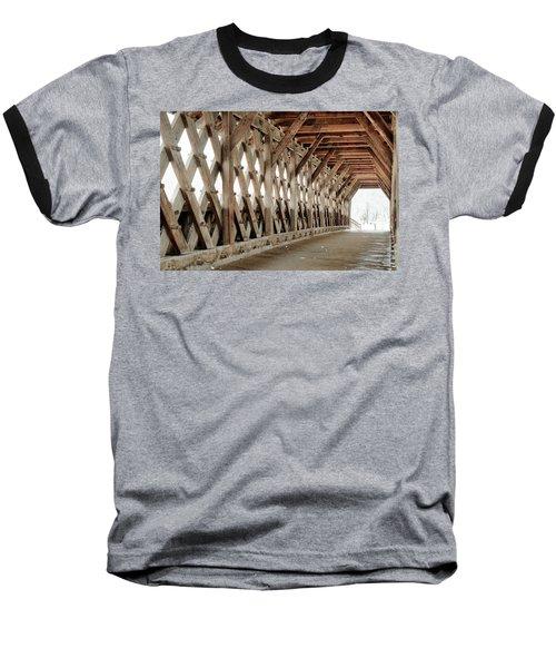 Pedestrian Bridge Guelph Ontario Baseball T-Shirt