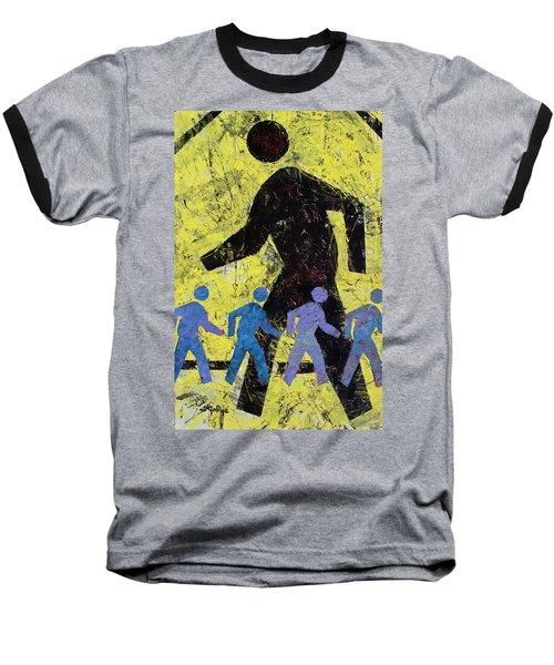 Pedestrian Baseball T-Shirt
