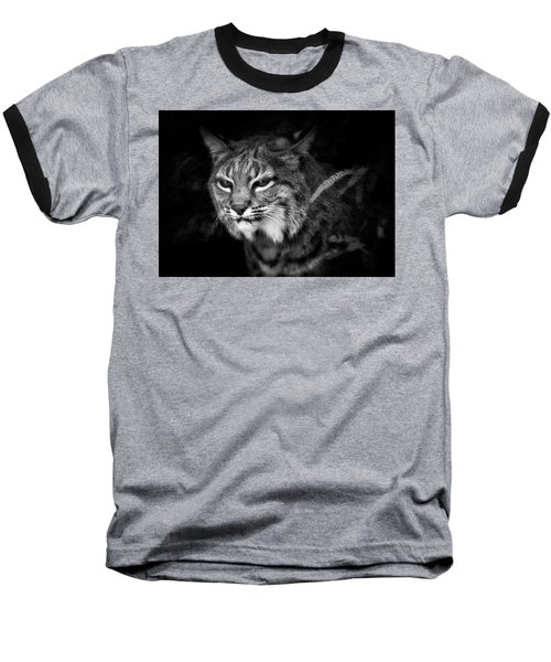 Peek A Boo Baseball T-Shirt by Elaine Malott