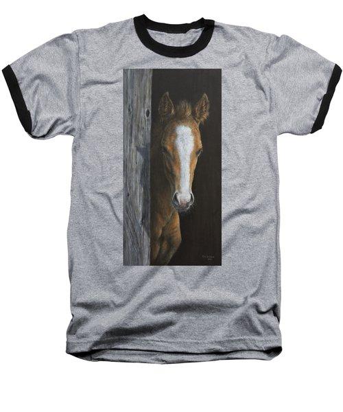 Peek A Boo Baseball T-Shirt