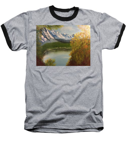 Peek-a-boo Mountain Baseball T-Shirt