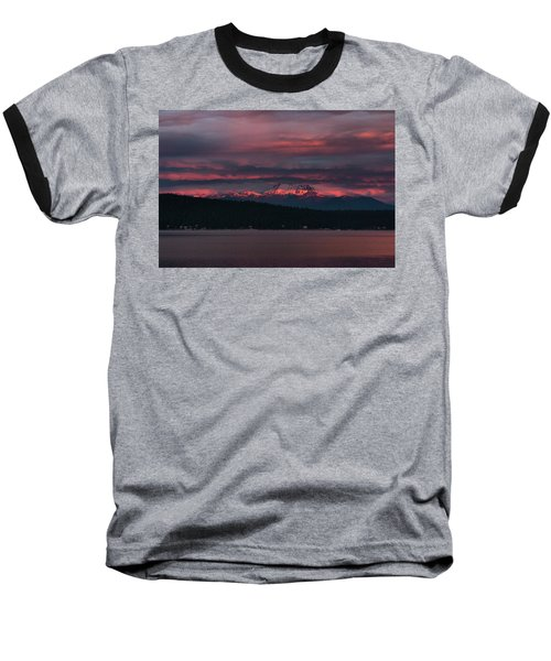 Peekaboo Sunrise Baseball T-Shirt by Jan Davies