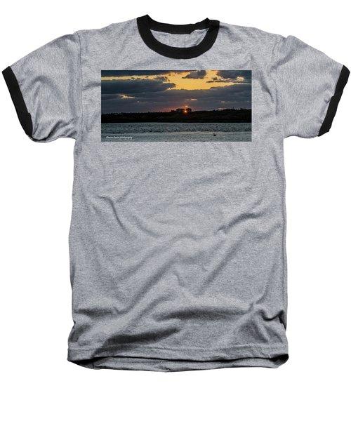 Peeking Between The Condos Baseball T-Shirt