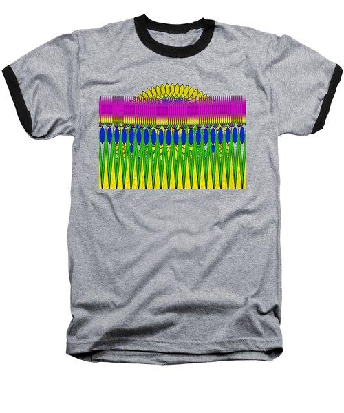Peeking Sun Abstract By Kaye Menner Baseball T-Shirt