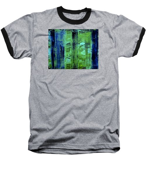 Peeking Through The Blinds Baseball T-Shirt