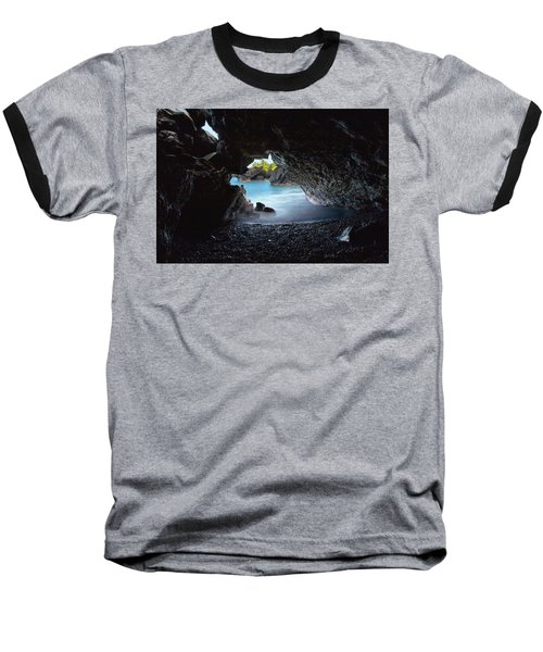 Peeking Through The Lava Tube Baseball T-Shirt