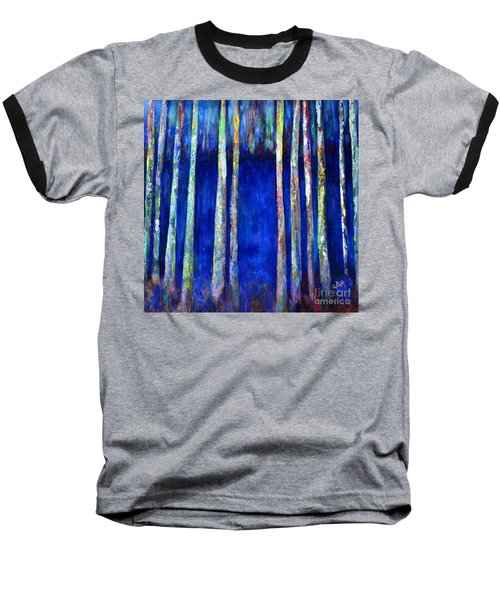 Peeking Through The Trees Baseball T-Shirt