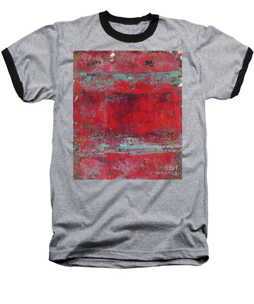 Peeling Wall Baseball T-Shirt