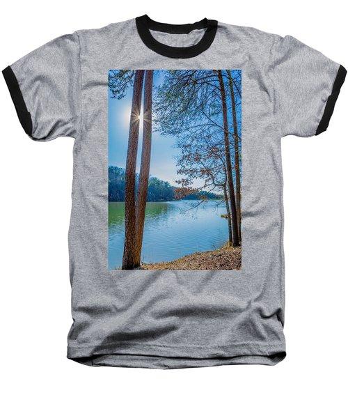 Peeping Sun Baseball T-Shirt