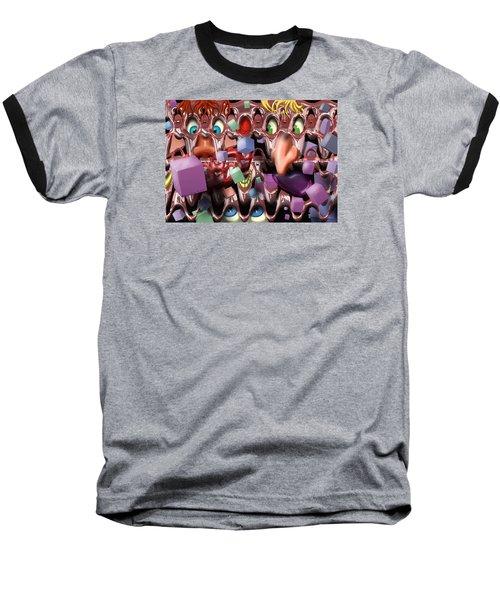 Peeping Baseball T-Shirt