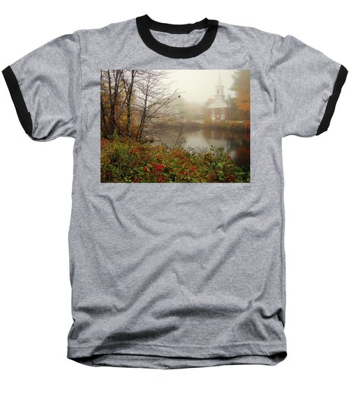 Foggy Glimpse Baseball T-Shirt