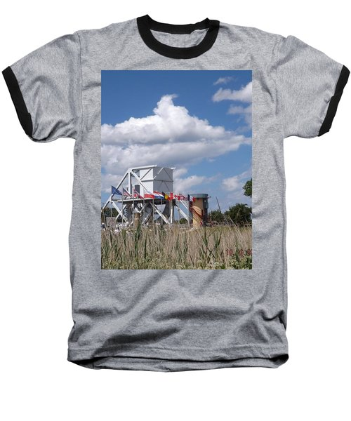 Pegasus Bridge Baseball T-Shirt