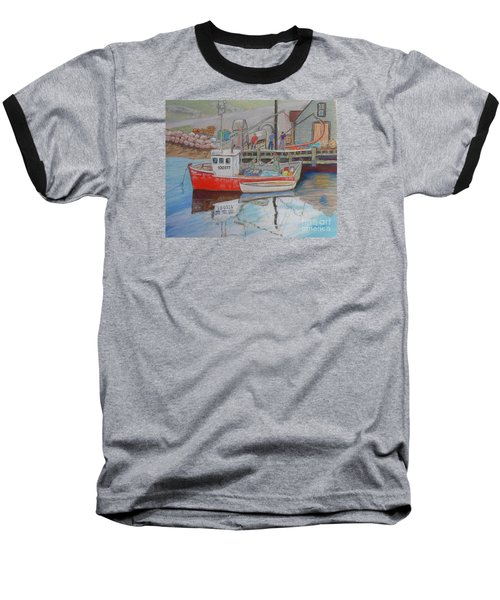 Peggy's Cove  Fishermen Baseball T-Shirt