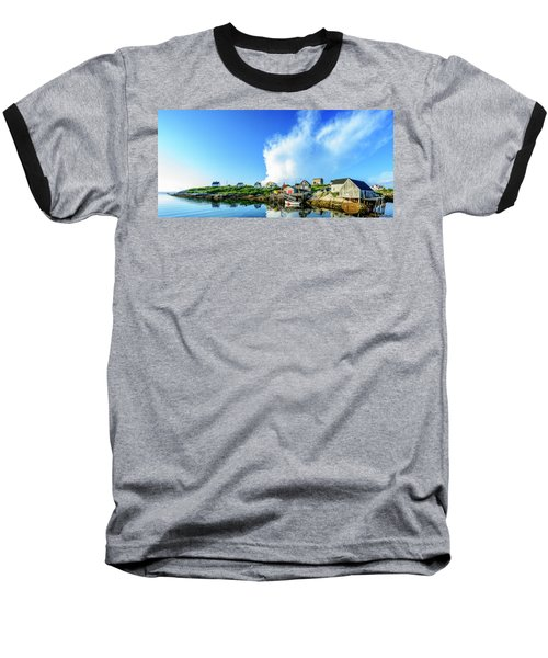 Peggys Cove Baseball T-Shirt by Ken Morris