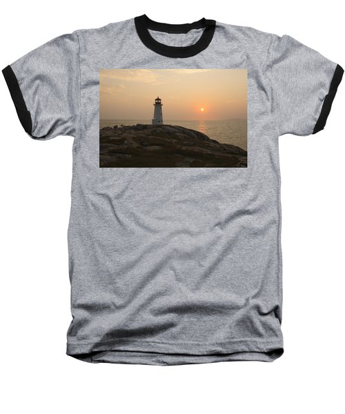 Peggy's Cove Lighthouse Baseball T-Shirt