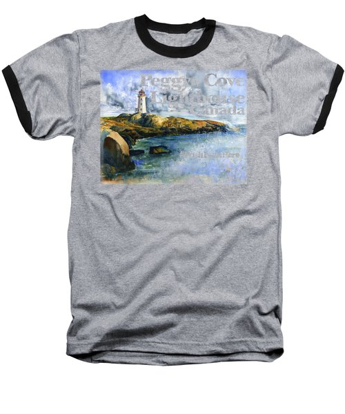 Peggys Cove Lighthouse Shirt Baseball T-Shirt