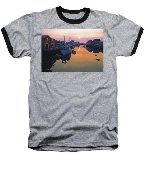Peggy's Cove, Nova Scotia, Canada Baseball T-Shirt