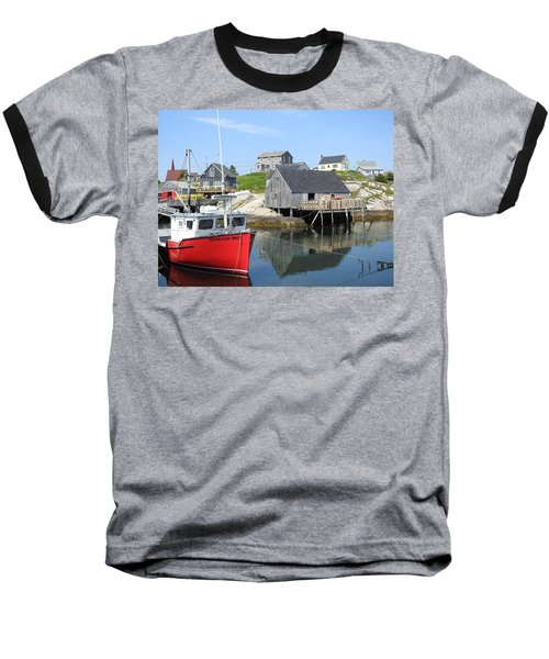 Peggy's Cove, Nova Scotia Baseball T-Shirt