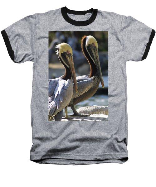 Pelican Duo Baseball T-Shirt