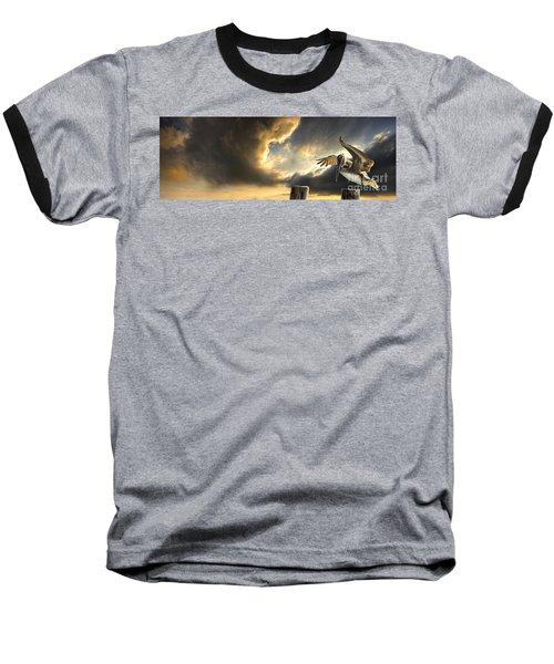 Pelican Evening Baseball T-Shirt