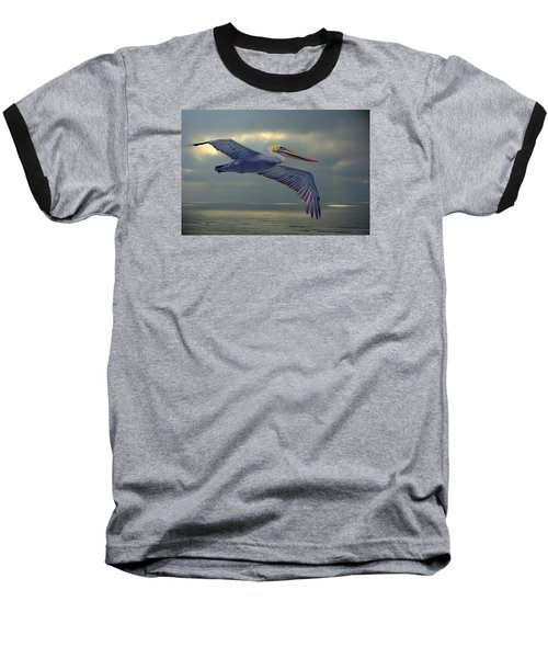 Pelican Flight Baseball T-Shirt