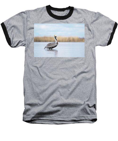 Pelican In Paradise Baseball T-Shirt