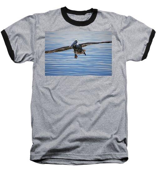 Pelican On Approach Baseball T-Shirt
