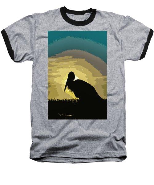 Pelican Paint Baseball T-Shirt