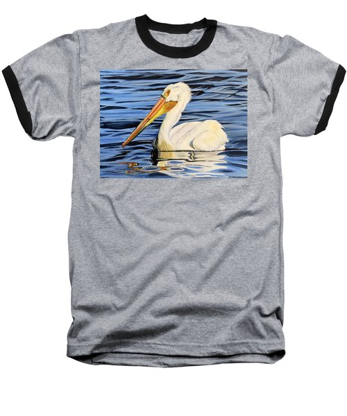 Pelican Posing Baseball T-Shirt