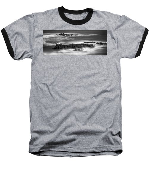 Pelican Rock Baseball T-Shirt by Hugh Smith